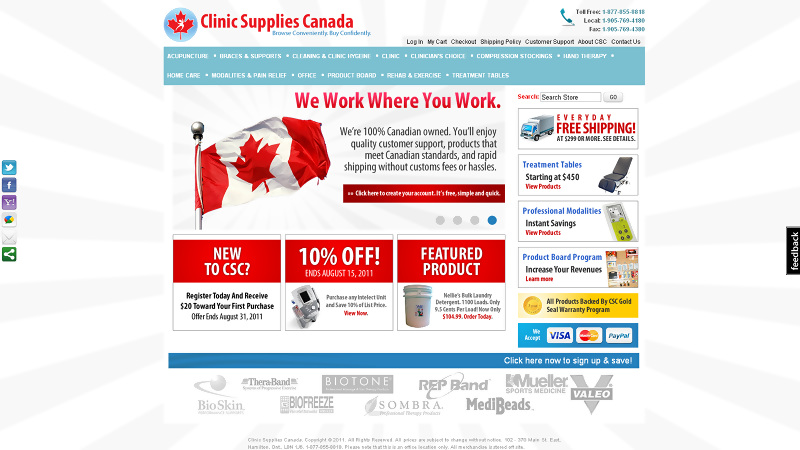 Clinic Supplies Canada