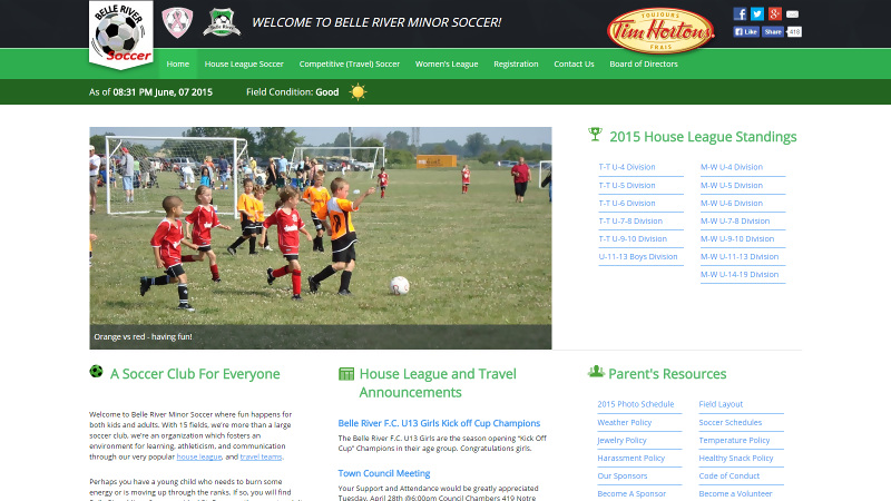 Belle River Minor Soccer
