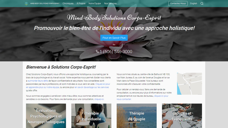 Mind-Body Solutions Corps-Esprit